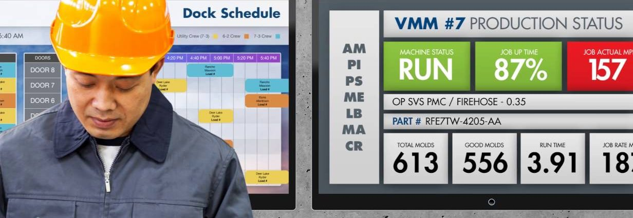 Yap!digital | DIGITAL SIGNAGE APPLICATIONS FOR MANUFACTURING